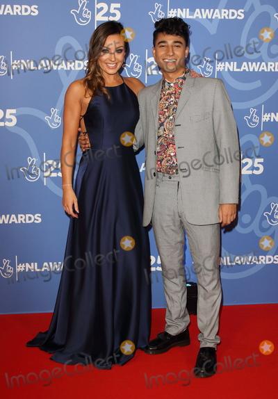 Amy Dowden Photo - London UK Amy Dowden and Karim Zeroual at National Lottery Awards 2019 held at BBC Wood Lane London on October 15th 2019Ref LMK73-J5616-161019Keith MayhewLandmark MediaWWWLMKMEDIACOM