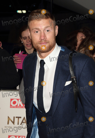 Andrew Flintoff Photo - London UK Andrew Flintoff at National Television Awards 2017 at O2 Peninsula Square London on January 25th 2017Ref LMK73 -61562-260117Keith MayhewLandmark Media WWWLMKMEDIACOM
