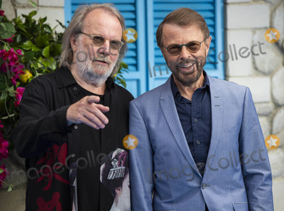 ABBA Photo - London UK Benny Andersson and Bjorn Ulvaeus (ABBA)   at the UK Premiere of Mamma Mia Here We Go Again at Eventim Apollo on July 16 2018 in London England16th July 2018Ref LMK386-J2319-170718Gary MitchellLandmark MediaWWWLMKMEDIACOM