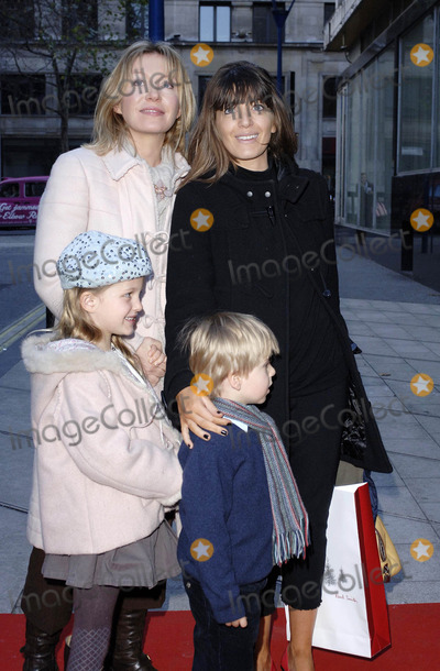 Kirsty Young Photo - London UK Claudia Winkleman Kirsty Young and guest arrive at the 9th annual gala performance of the famous Raymond Briggs story The Snowman at Sadlers Wells Peacock Theatre in London 9th December 2006 Ali KadinskyLandmark Media
