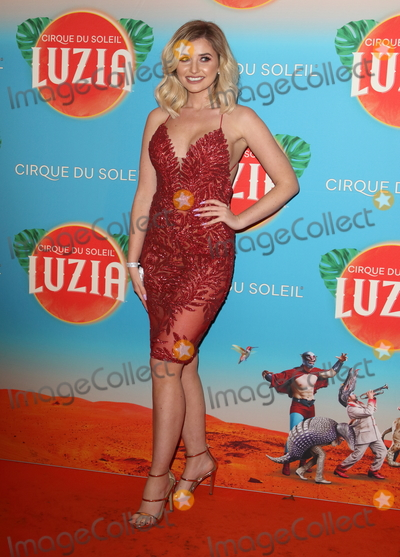 Amy Hart Photo - London UK Amy Hart at Cirque du Soleil Luzia Press Night at the Royal Albert Hall Kensington London on January 15th 2020Ref LMK73-J6034-160120Keith Mayhew Landmark MediaWWWLMKMEDIACOM