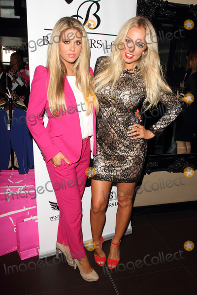 Aisleyne Horgan-Wallace Photo - London UK Bianca Gascoigne and Aisleyne Horgan Wallace at Bloggers Love Fashion Party at the Penthouse Club Leicester Square London August 22nd 2013Ref LMK73-45045-230813Keith MayhewLandmark Media WWWLMKMEDIACOM