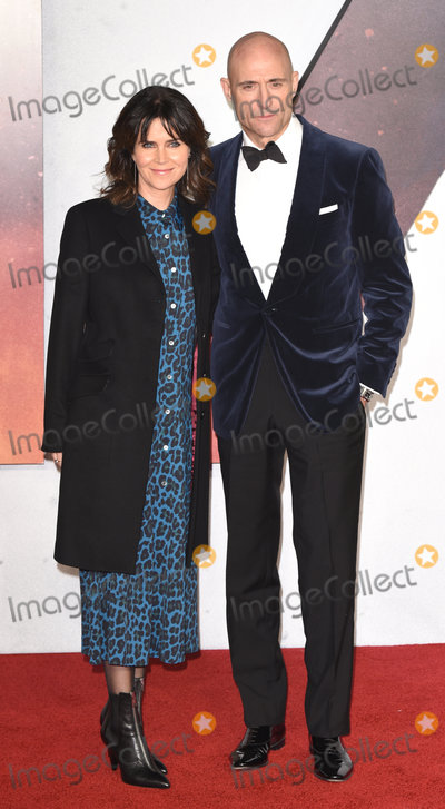 Mark Strong Photo - London UK Liza Marshall Mark Strong at the Word Premiere and Royal Film Performance of 1917 held at Odeon luxe Leicester Square London on Wednesday 4 December 2019Ref LMK392 -J5895-051219Vivienne VincentLandmark Media WWWLMKMEDIACOM