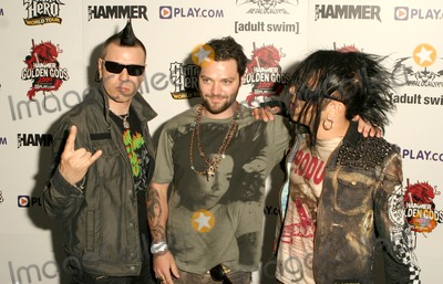 Bam Margera Photo - London UK Bam Margera and The 69 Eyes arrive at the Metal Hammer Golden Gods Awards 2009 held at the IndigO2 in London 15th June 2009Taya UddinLandmark Media