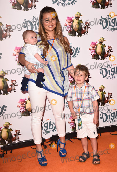 Alex Weaver Photo - LondonUK   Alex Weaver and Albie  at Digby Dragon World Premiere held at The Conservatory Barbican Centre London 2nd July 2016  RefLMK392-60800-030716  Vivienne VincentLandmark Media WWWLMKMEDIACOM