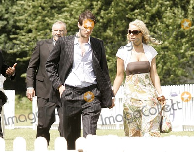 Atomic Kitten Photo - Gaynes Park EstateEppingUK Liz McClarnon (ex-Atomic Kitten) holding hands with a guest   at the Duke of Essex Polo Trophy Event 5th July 2008 Dave NortonLandmark Media