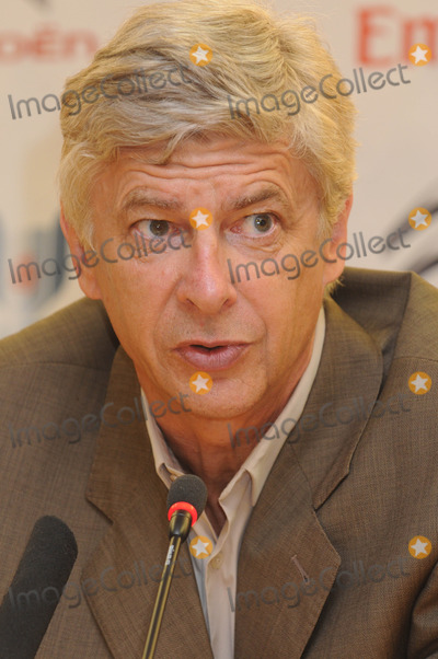 Arsene Wenger Photo - London UK   Arsene Wenger  (Arsenal manager) at Arsenals football ground  Emirates Cup Press ConferencesEmirates StadiumLondon 29th July 2011  Matt LewisLandmark Media