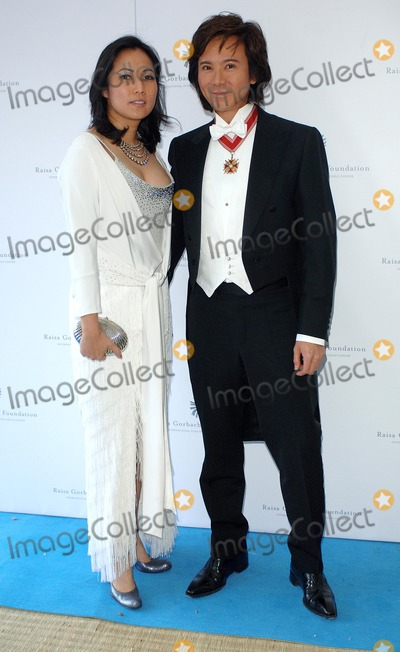 Andy Wong Photo - Northamptonshire UK Patti and Andy Wong attending the Raisa Gorbachev foundation Russian Ball at the Althorp House1Oth June 2006Eric Best Landmark Media