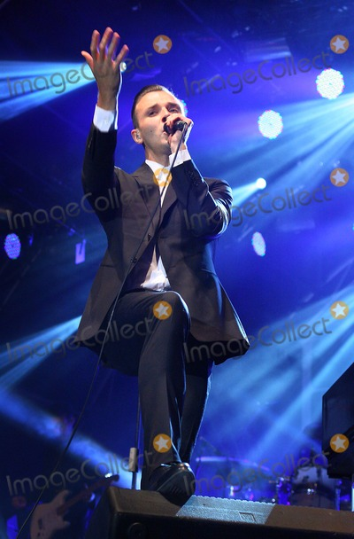 Theo Hutchcraft Photo - London UK Theo Hutchcraft of Hurts performing at Somerset House in London 14th July 2011 Justyna SankoLandmark Media