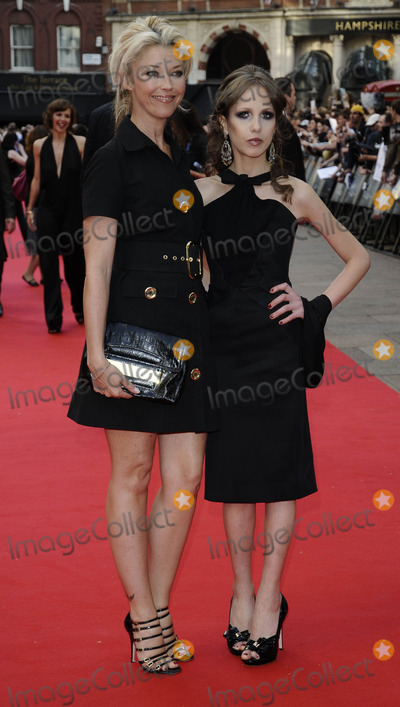 Allegra Versace Photo - London UK Tamara Beckwith and Allegra Versace  at The Dark Knight UK premiere held at the Odeon Leicester Square cinema 21st July 2008Can NguyenLandmark Media