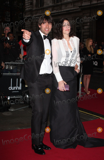 Alex James Photo - London UK  Alex James and wife Claire Neate   at the GQ magazine Men of the Year Awards  Royal Opera House  6th September 2011  Keith MayhewLandmark Media