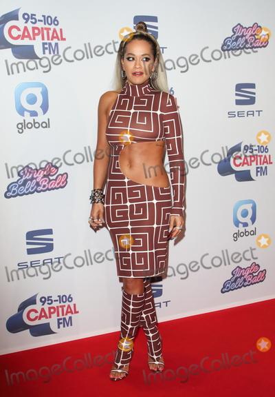 Rita  Ora Photo - London UK   Rita Ora    at Capitals Jingle Bell Ball The O2 London  7th December 2019 Ref LMK73-S2645-081219Keith MayhewLandmark MediaWWWLMKMEDIACOM