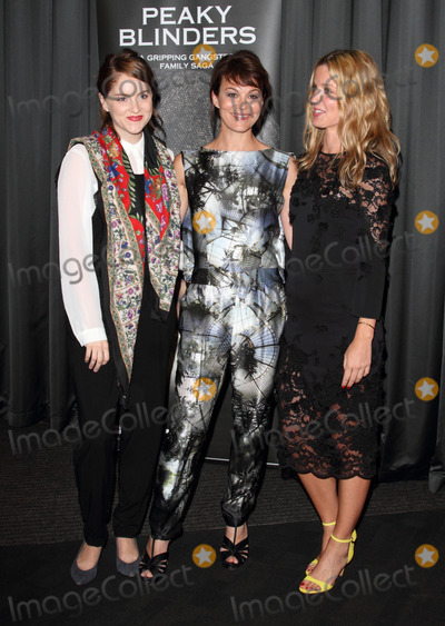 Sophie Rundle Photo - London UK Sophie Rundle Helen McCrory and Annabelle Willis  at the Gala Screening of  Peaky Blinders at the BFI South Bank London 21st August 2013RefLMK73-45030-220813   Keith MayhewLandmark Media  WWWLMKMEDIACOM