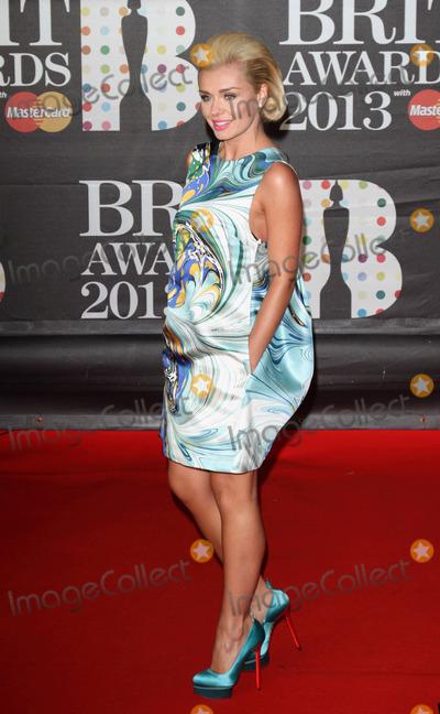 Katherine Jenkins Photo - London UK Katherine Jenkins  at    the 2013 Brit Awards held at the O2 Arena in North Greenwich21 February 2012Keith MayhewLandmark Media