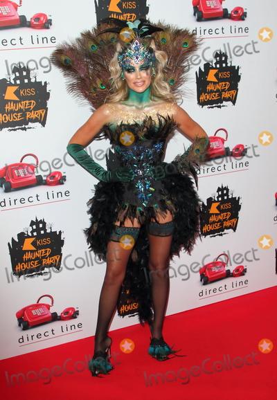 Kiss Photo - London UK Laura Anderson  at  KISS Haunted House Party  SSE Arena 26th October 2019RefLMK73-S2505-261019 Keith MayhewLandmark Media WWWLMKMEDIACOM