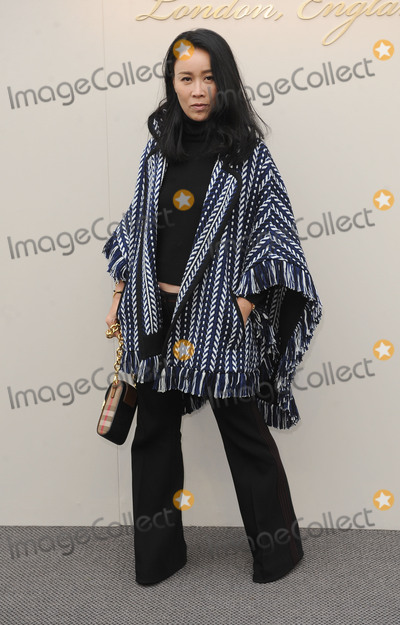 Na Ying Photo - London UK Na Ying at the Burberry Prorsum fashion show- AutumnWinter 2016 during London Fashion Week 2016 London Britain 22nd Feb 2016Ref LMK200-60019-220216Landmark MediaWWWLMKMEDIACOM