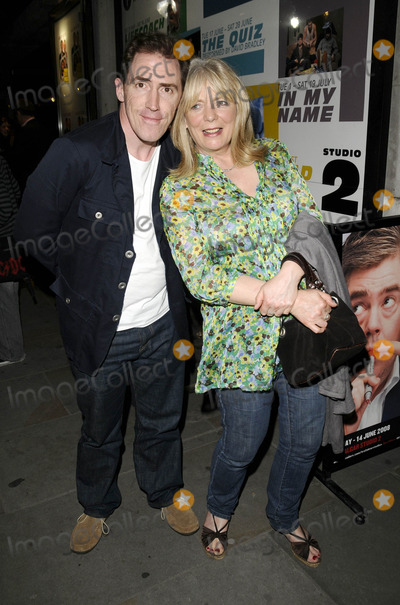 Alison Steadman Photo - London UK Rob Brydon and Alison Steadman at the Fat Pig press night held at Trafalgar Studios 1 Theatre in Whitehall London 27th May 2008Can NguyenLandmark Media