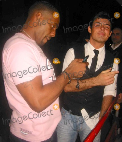 Anthony Hutton Photo - London Big Brother 6 winner Anthony Hutton (r) and Richard Blackwood on a night out at China Whites nightclub09 November 2005ZakLandmark Media