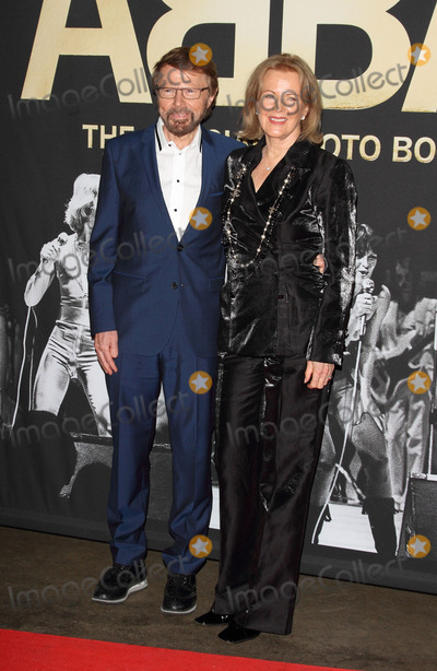 Anni-Frid Lyngstad Photo - London UK Bjrn Ulvaeus and Anni-Frid Lyngstad at ABBA  The International Anniversary Party marking the 40th Anniversary of their Eurovision Victory and the launch of ABBA  The Official Photo Book at the Tate Modern London on April 7th 2014Ref LMK73-48091-080414Keith MayhewLandmark Media WWWLMKMEDIACOM