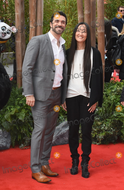 Alessandro Carloni Photo - London UK Alessandro Carloni and Jennifer Nelson at the Kung Fu Panda3European PremiereOdeon Leicester Square 6th  March 2016 Ref LMK326-60293-060316Matt LewisLandmark Media WWWLMKMEDIACOM