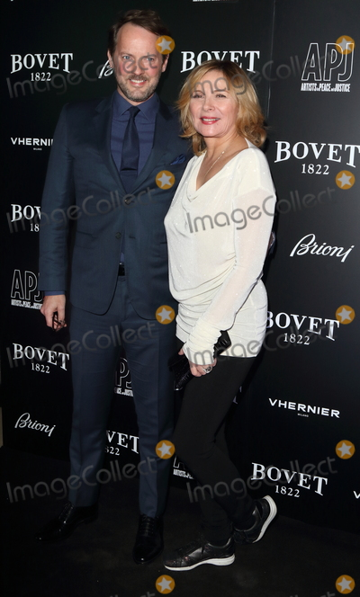 Kim Cattrall Photo - London UK  Kim Cattrall and Russell Thomas at  BOVET 1822 Brilliant is Beautiful Gala benefitting Artists for Peace and Justices Global Education Fund for Woman and Girls at Claridges Hotel 1st December 2017 Ref LMK73-S965-021217Keith MayhewLandmark Media WWWLMKMEDIACOM