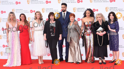 Ashley Banjo Photo - London UK  Megan McKenna Michelle Heaton Victoria Derbyshire Coleen Nolan Ashley Banjo Ruth Madoc Sarah Jane Crawford Helen Lederer Sally Dexter  at The British Academy Television Awards  2019held at  Festival Hall Belvedere Road London on Sunday 12 May 2019  Ref LMK392 -J4880-130519Vivienne VincentLandmark Media WWWLMKMEDIACOM