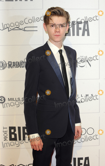 Thomas Sangster Photo - London UK Thomas Sangster  at the Moet British Independent Film Awards  Old Billingsgate Market 6th December 2015  Ref LMK200-59004-071215Landmark Media WWWLMKMEDIACOM