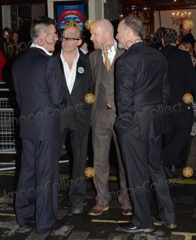 Sean Foley Photo - London UK Simon Cowel Harry Hill Sean Foley and Steve Brown at I Cant Sing Press Night at the London Palladium in London on March 26th 2014 Ref LMK392-47987-270314Vivienne VincentLandmark Media WWWLMKMEDIACOM