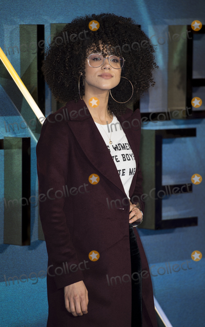 Nathalie  Photo - London UK Nathalie Emmanuel  at  the European premiere of Disneys A Wrinkle In Time at BFI IMAX on March 13 2018 in London EnglandRef LMK386-J1719-140318Gary MitchellLandmark MediaWWWLMKMEDIACOM