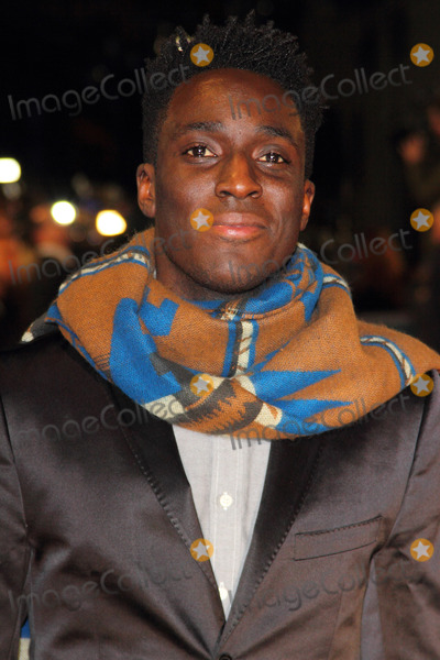 Andy Akinwolere Photo - London UK  Andy Akinwolere  at the World Premiere of Woman in Black at the Royal Festival Hall London 24th January 2012    Keith MayhewLandmark Media