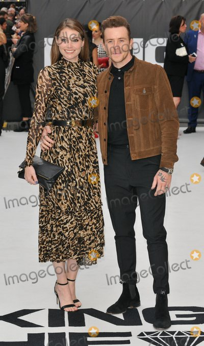 Danny Jones Photo - London UK Georgia Horsley and Danny Jones  at King of Thieves World Premiere at Vue West End Leicester Square London on Wednesday 12 September 2018Ref LMK315-S1740-130918Can NguyenLandmark MediaWWWLMKMEDIACOM