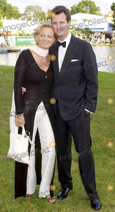 Alice Beer Photo - London Alice Beer and partner attend the Hampton Court Palace Flower Show Charity GalaDate 1st July 2002Picture by Trevor MooreLandmark Media