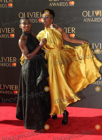 Noma Dumezweni Photo - London UK Michaela Coel and Noma Dumezweni at The Olivier Awards Royal Albert Hall Kensington London on April 9th 2017Ref LMK73-J180-100417Keith MayhewLandmark MediaWWWLMKMEDIACOM