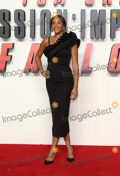 Amal Fashanu Photo - London UK Amal Fashanu at the Mission Impossible Fallout UK Premiere held at the BFI IMAX South Bank London13 July 2018Ref LMK73-MB1401-140718Keith Mayhew  Landmark MediaWWWLMKMEDIACOM