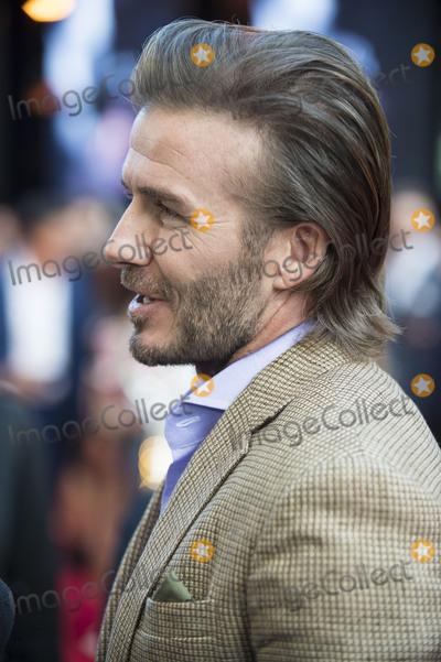 The Sword Photo - London UK  David Beckham at the European premiere of King Arthur Legend of the Sword at Cineworld Empire on May 10 2017 in London United KingdomRef LMK386-J285-110517Gary MitchellLandmark MediaWWWLMKMEDIACOM