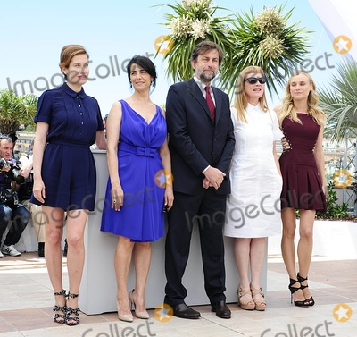 Hiam Abbass Photo - Cannes France Emmanuelle Devos Hiam Abbass Nanni Moretti Andrea Arnold and Diane Kruger at the 65th Annual Cannes Film Festival Feature Film Jury Photocall held at the Palais des Festivals16th May 2012SydLandmark Media