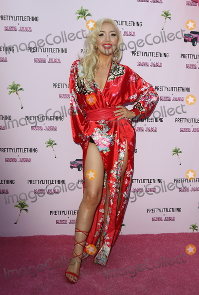 Alexis Knox Photo - LondonUK  Alexis Knox   at the PrettyLittleThing x Maya Jama Launch Party at MNKY HSE Dover Street 25 June 2018Ref LMK73-S1475-260618Keith MayhewLandmark Media WWWLMKMEDIACOM