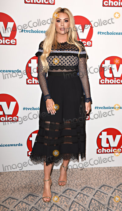 Nicola McLean Photo - London UK Nicola McLean at The TV Choice Awards held at The Dorchester Hotel London on Monday 10 September 2018Ref LMK392-J2580 -110918Vivienne VincentLandmark Media WWWLMKMEDIACOM