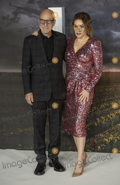 Gary Mitchell Photo - London UK  Sir Patrck Stewart and Sunny Ozell  at the European Premiere of Amazon Original Star Trek Picard at Odeon Luxe Leicester Square on January 15 2020 in London EnglandRef LMK386-J6033-160120Gary MitchellLandmark MediaWWWLMKMEDIACOM
