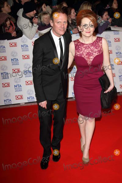 Antony Cotton Photo - London UK 230113Antony Cotton and Jenni McAlpine at the National Television Awards held at the O2 Arena in London23 January 2013Keith MayhewLandmark Media