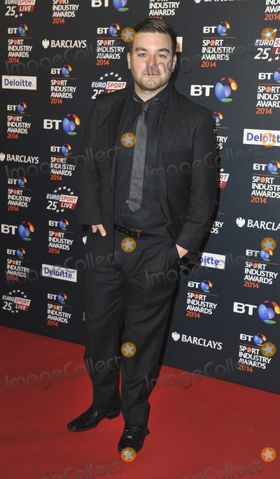 Alex Brooker Photo - London UK Alex Brooker  at the BT Sport Industry Awards at Battersea Evolution in London on May 8 2014 Ref LMK386-48413-090514Gary MitchellLandmark Media WWWLMKMEDIACOM