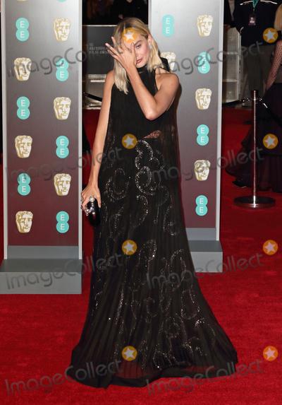 Margot Robbie Photo - London UK Margot Robbie at  EE British Academy Film Awards - Red Carpet Arrivals at the Royal Albert Hall London on Sunday February 18th 2018 Ref LMK73-J1591-190218Keith MayhewLandmark MediaWWWLMKMEDIACOM
