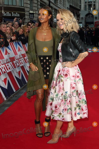Alesha Dixon Photo - London UK  Amanda Holden Alesha Dixon at  Britains Got Talent Judges Photocall on the Red Carpet at the London Palladium London on Sunday January 28th 2018Ref LMK73-J1469-290118Keith MayhewLandmark MediaWWWLMKMEDIACOM