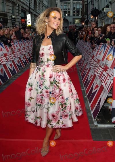 Amanda Holden Photo - London UK  Amanda Holden at  Britains Got Talent Judges Photocall on the Red Carpet at the London Palladium London on Sunday January 28th 2018Ref LMK73-J1469-290118Keith MayhewLandmark MediaWWWLMKMEDIACOM