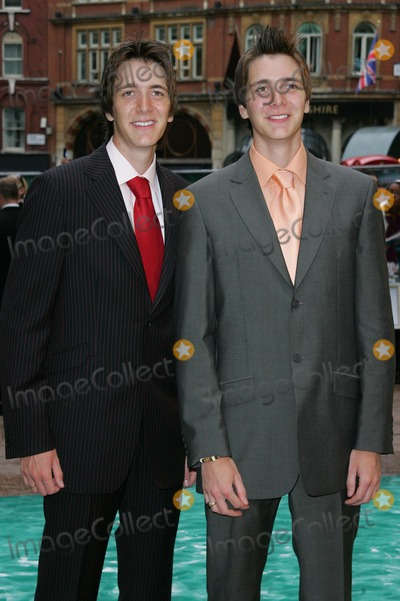 Oliver Phelps Photo - London UK James and Oliver Phelps  attending the European Premiere of Harry Potter and the Order of the Phoenix at the Odeon Leicester Square 3rd July 2007 Keith MayhewLandmark Media