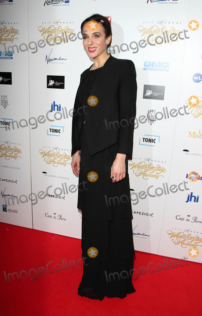 Amanda Abbington Photo - London UK Amanda Abbington at the 17th Annual Whats On Stage Awards held at The Prince Of Wales Theatre London on Sunday 19 February 2017Ref LMK73 -61731-200217Keith MayhewLandmark Media WWWLMKMEDIACOM