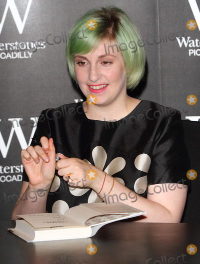 Lena Dunham Photo - London UK Lena Dunham at  Not That Kind of Girl book signing at Waterstones Piccadilly London Britain 29th October 2014Ref LMK73-49939-291014Keith MayhewLandmark Media WWWLMKMEDIACOM
