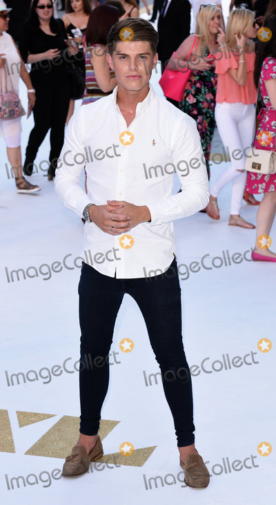 Chris Baxter Photo - London UK Chris Baxter at Magic Mike XXL European Premiere at Vue West End Leicester Square London  on Tuesday 30 June 2015Ref LMK392 -51474-010715Vivienne VincentLandmark Media WWWLMKMEDIACOM
