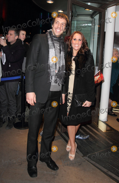 Alex Gaumond Photo - London UK  Alex Gaumond and guest  at the Whatsonstagecom Theatregoers Choice Awards at the Prince of Wales Theatre 19th February 2012  Keith MayhewLandmark Media