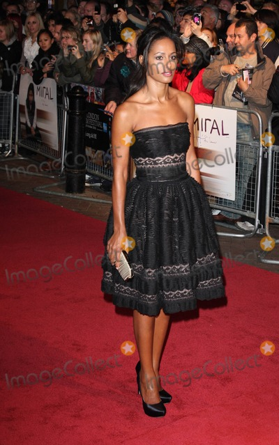 Rula Jebreal Photo - London UK  181010Rula Jebreal at the London Film Festival premiere of the film Miral held at the Vue West End cinema in Leicester Square18 October 2010 Keith MayhewLandmark Media